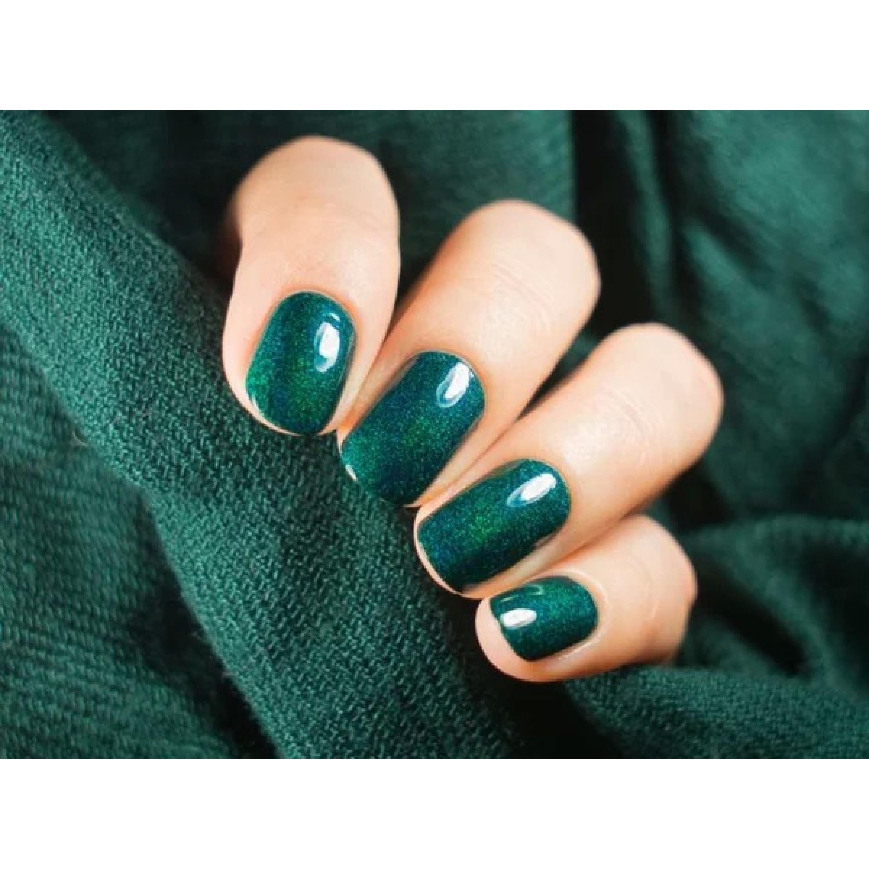 Зеленые ногти фото шеллак